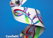 Confetti Collaboration Jerry Schmidt Steel Evie Zimmer Painter 2'6x1'1''
