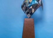 True Story collraboration Jerry Schmidt-Steel Matt Merchant- Painter 6' 2'' X1'6''