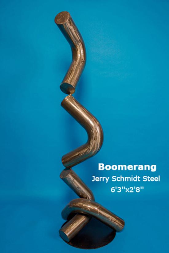 Boomerang Jerry Schmidt Steel 6'3''x2'8''