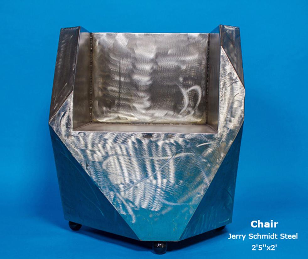 Chair Jerry Schmidt Steel 2'5''x2'