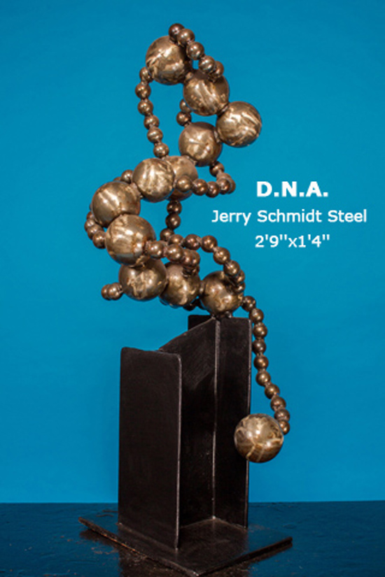 D.N.A. Jerry Schmidt Steel 2'9''x1'4''