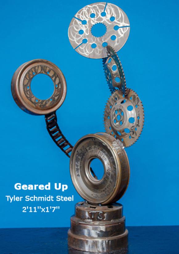 Geared Up Tyler Schmidt 2'11''x1'7''