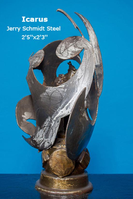 Icarus Jerry Schmidt Steel 2'5''x2'3''
