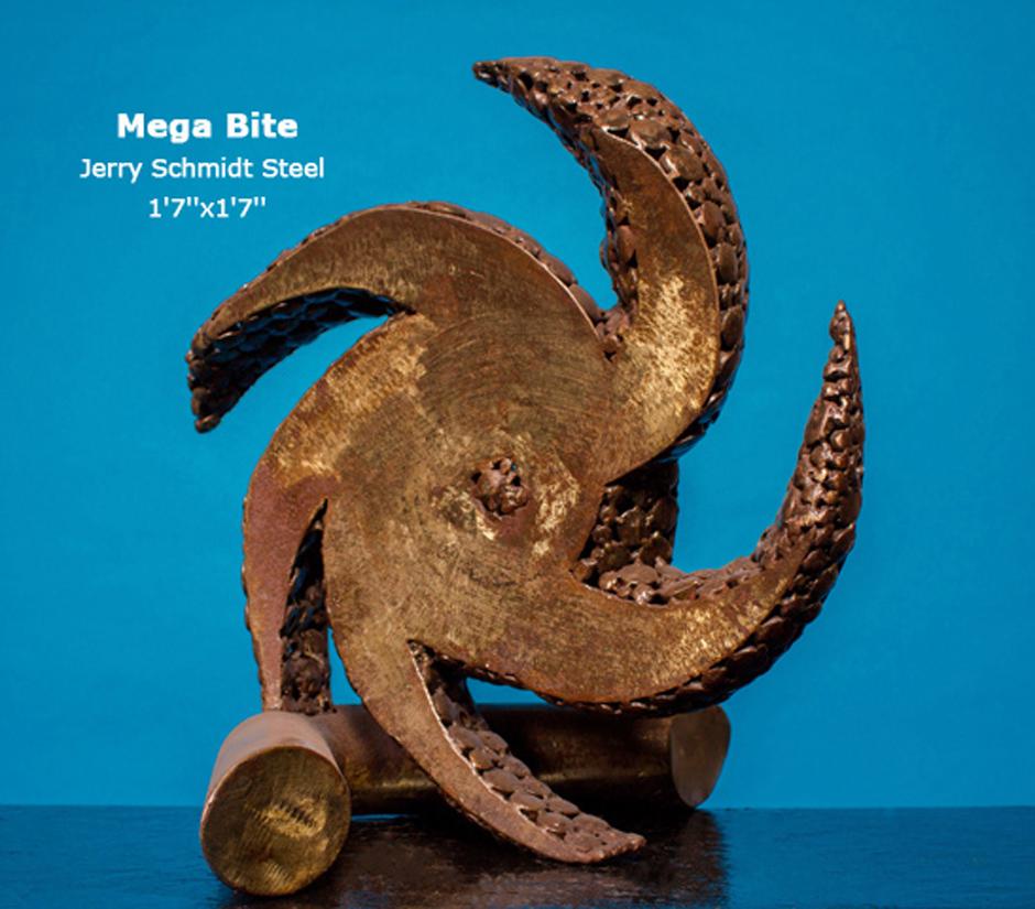Mega Bite Jerry Schmidt Steel 1'7''x1'7''