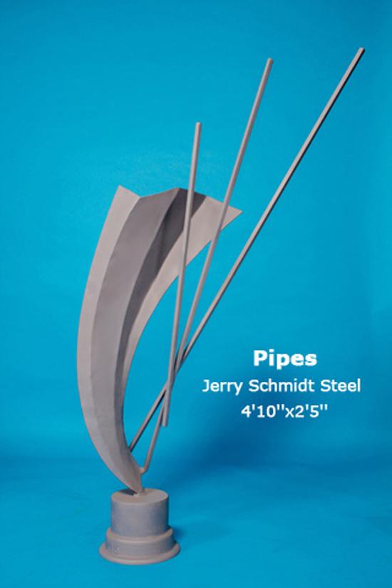Pipes Jerry Schmidt Steel 4'10''x2'5''