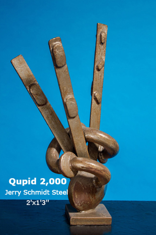 Qupid 2,000 Jerry Schmidt Steel 2'x1'3''