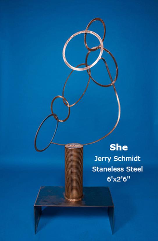 She Jerry Schmidt Staneless Steel 6'x2'6''