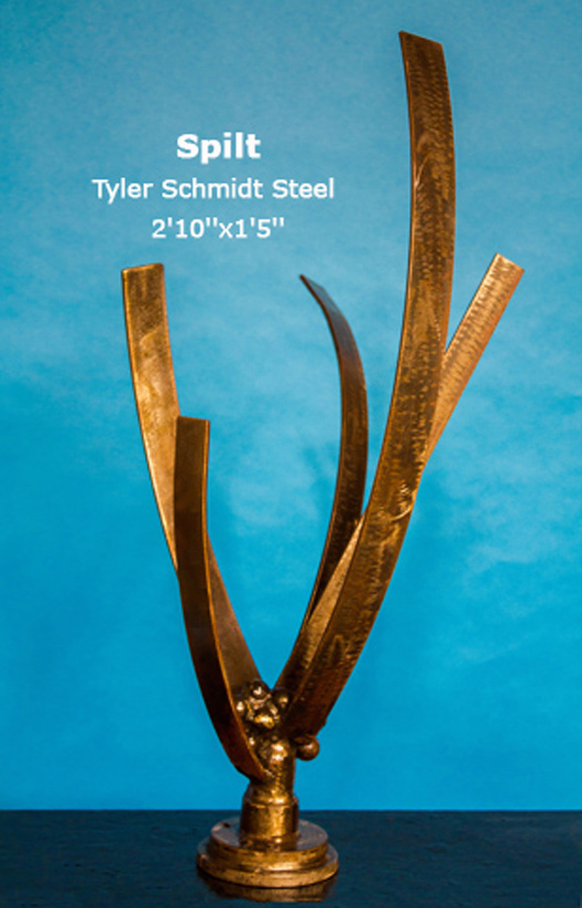 Spilt Tyler Schmidt Steel 2'10''x1'5''