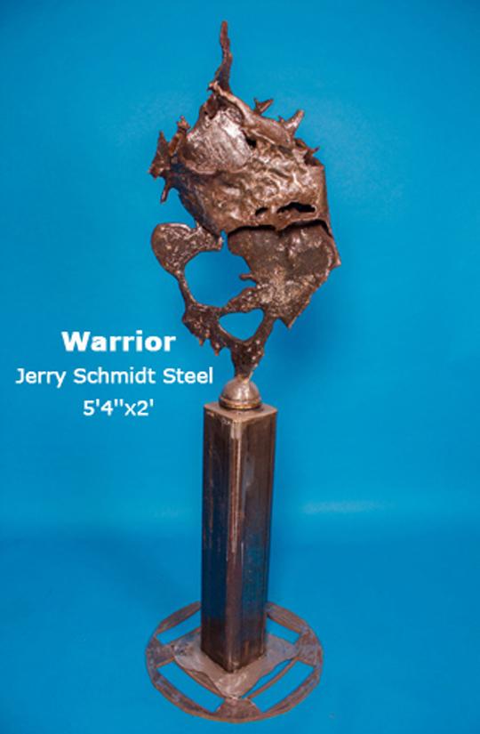 Warrior Jerry Schmidt Steel 5'4''x2'