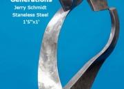 Generations Jerry Schmidt Staneless Steel 1'5''x1'
