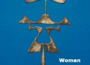Woman Jerry Schmit Steel 2'11''x1'3''